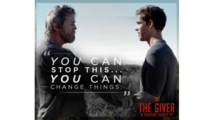 meaningful quotes from the novel turned film the giver