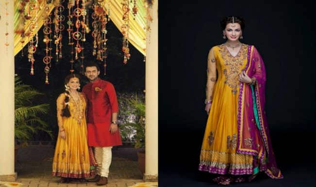 Dia Mirza wedding: The star's mehendi ceremony pictures with Sahil Sangha