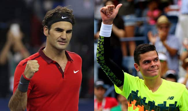 Roger Federer vs Milos Raonic, BNP Paribas Masters 2014 Quarterfinal: Watch Free Live Streaming and Match Telecast