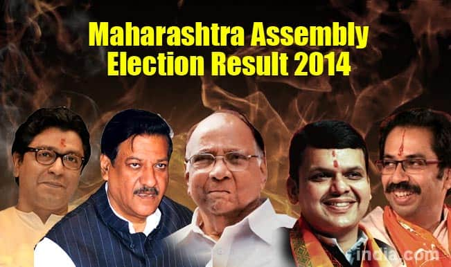 Maharashtra Assembly Election Results 2014: With 122 seats won, BJP looks to restore alliance with Shiv Sena