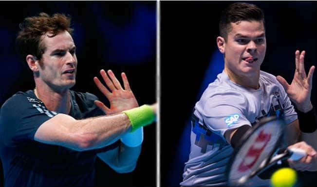 Andy Murray vs Milos Raonic Live Streaming: Get Live Telecast of ATP World Tour Finals 2014 on Day 4
