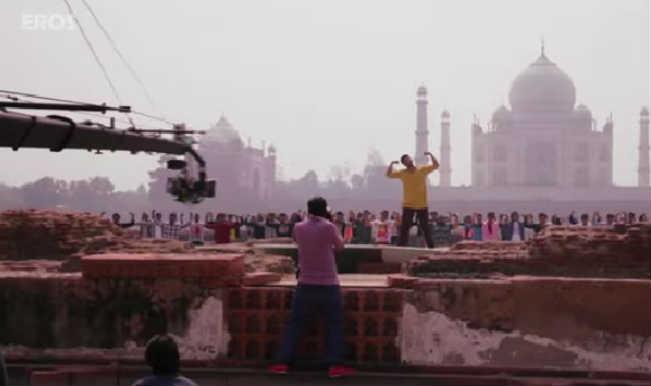 Tevar- Behind the scenes: Arjun Kapoor, the Superman in the making