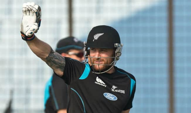 Brendon McCullum rested against Pakistan for Twenty20 and ODI series; Kane Williamson to lead