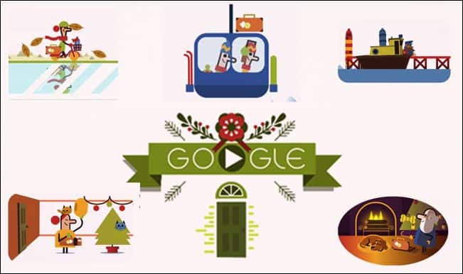 Merry Christmas Google Doodle: 'Tis the Season latest doodle begins 'Happy Holidays' with an amusing journey!