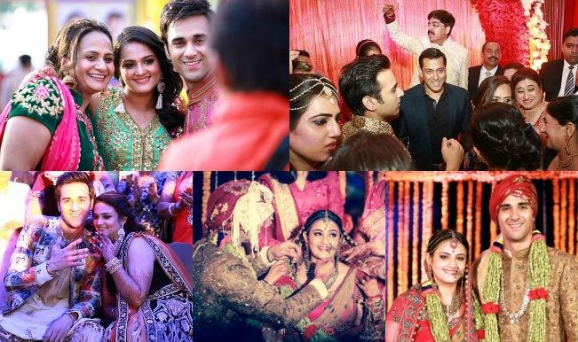 Pulkit Samrat and Shweta Rohira collage
