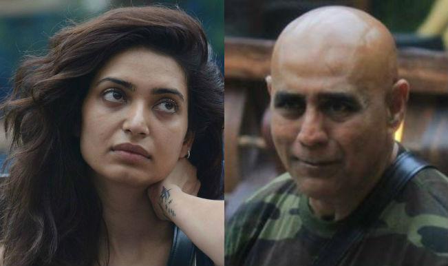 Puneet Issar and Karishma Tanna