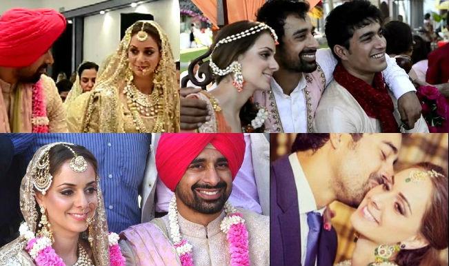 Rannvijay Singha and Prianka Vohra collage