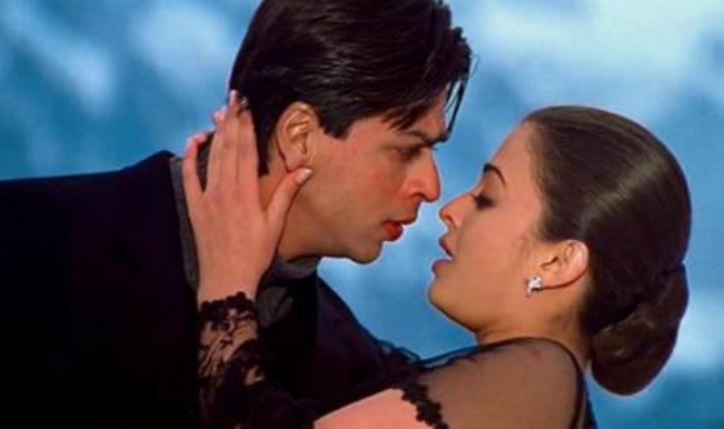 Image result for shahrukh khan and aishwarya rai romance
