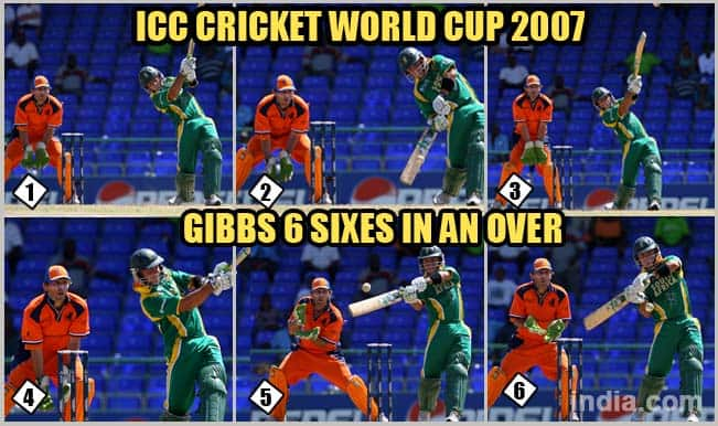 ICC Cricket World Cup 2007: Herschelle Gibbs' 6 Sixes in one over & Top 4 news-makers