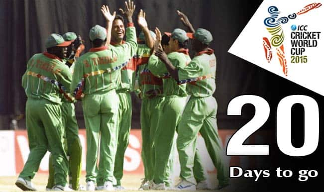 ICC Cricket World Cup 2015 Countdown Day 20: Kenya stun West Indies in 1996 World Cup
