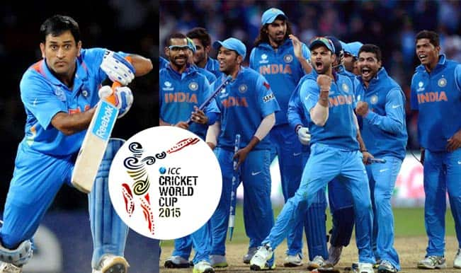 Team India For Icc Cricket World Cup 2015 List Of 15