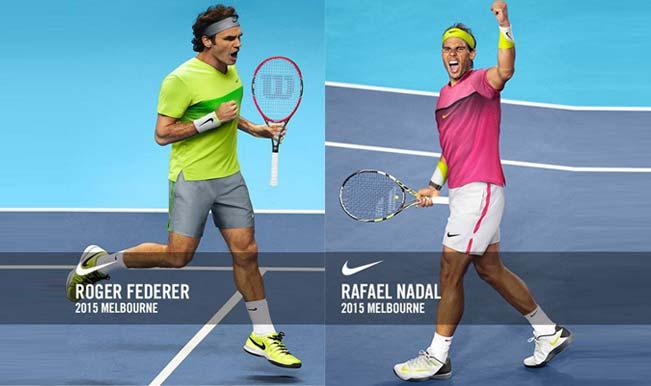 Roger Federer In Lime Vs Rafael Nadal In Pink Who Gets A