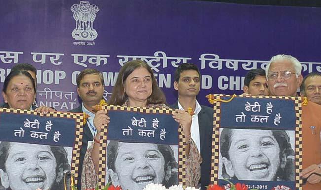 Maneka Gandhi announces Rs 1 crore reward for improvement of sex ratio