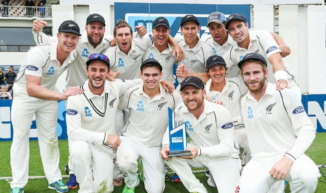 New Zealand overtake India in ICC test rankings after 193 run win against Sri Lanka in 2nd Test; complete series whitewash