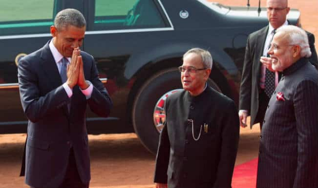 Obama in India: Stray dog gives US security a taste of India