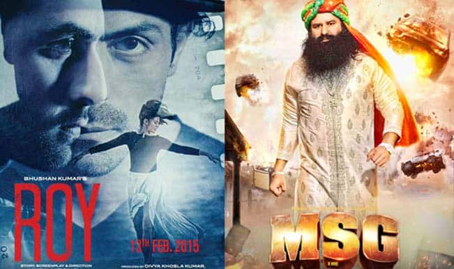 MSG: The Messenger of God to release with Ranbir Kapoor's Roy on February 13