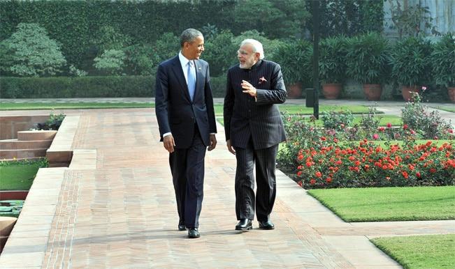 Prime Minister Narendra Modi US President Barack Obama at Hyderabad House 19
