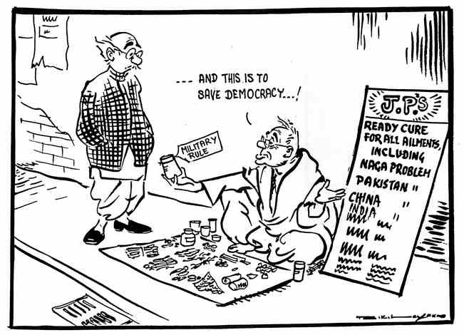 R K Laxman cartoon