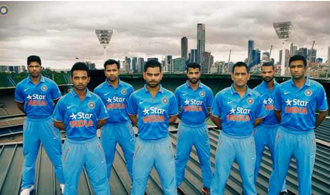 Team India's new jersey for ICC Cricket World Cup 2015 is made out of recycled plastic bottles!