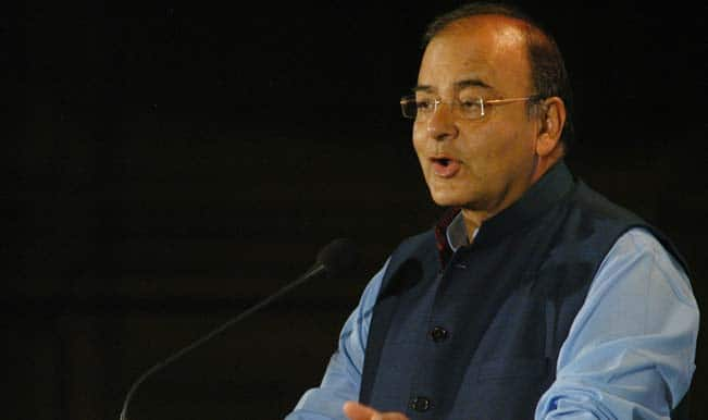 World Economic Forum: Arun Jaitley hints at not raising tax rates, incentives for manufacturing  in the coming Budget