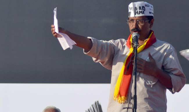 Arvind Kejriwal Swearing-in Ceremony Live News Updates: Arvind Kejriwal concludes the address by singing Manna Dey song
