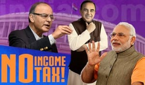 Union Budget 2015-16: Will Finance Minister Arun Jaitley abolish Income Tax altogether?