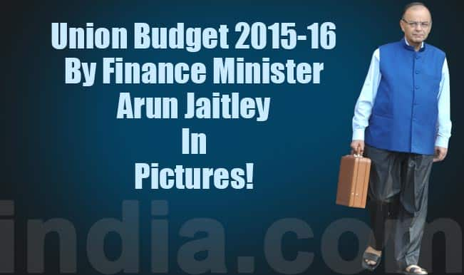 Union Budget 2015-16 presented by Finance Minister Arun Jaitley in 13 pictures!