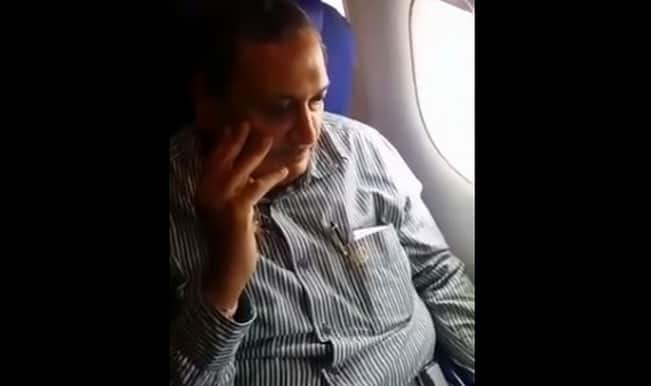 Shocking video of a chairman and MD molesting girl on Indigo Airlines flight!