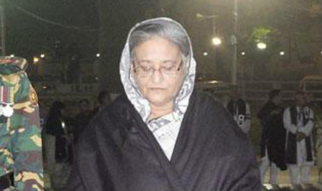 Khaleda Zia harbouring false hopes to unseat Government through army: Sheikh Hasina