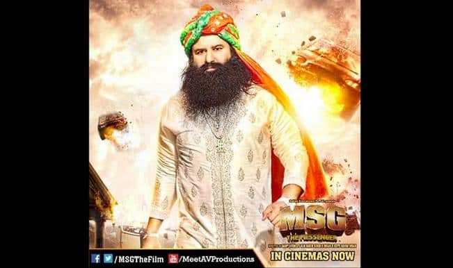 Did MSG: The Messenger box office really collect Rs 100 crore?