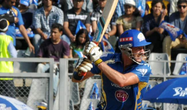 Mumbai-Indians-batsman-Michael-Hussey-in-action-during-51st-match-of-IPL-2014