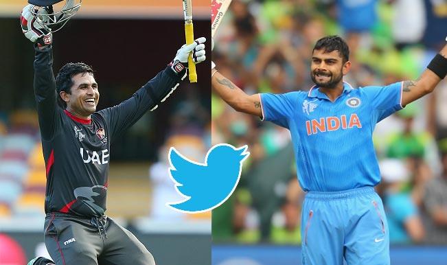 India vs United Arab Emirates Live Score: Team India fans want to sing Thoka Thoka in IND vs UAE Cricket World Cup 2015 match on Twitter!