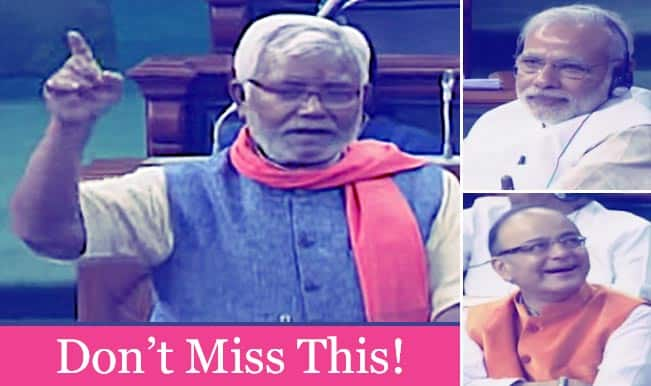 Hukmdev Narayan Yadav's speech on Budget discussion leaves Prime Minister Narendra Modi in tears (Watch video)