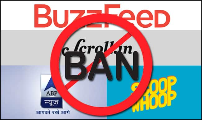 Ban ScoopWhoop, BuzzFeed & Other News Sites in India! Want to watch porn, go to Xvideos.com