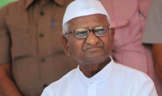 Anna Hazare on dubious fundings: If anyone proves that our movement gets foreign money, I will take 'sanyas'