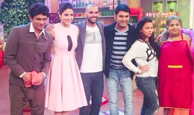 Comedy Nights With Kapil: Anushka Sharma and Neil Bhoopalam promote NH 10