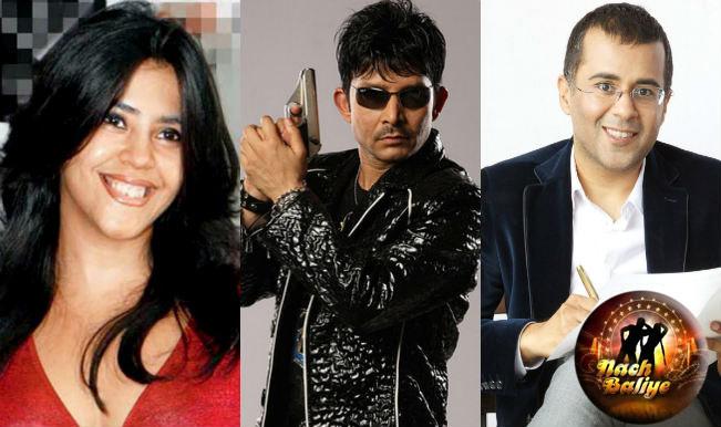 Nach Baliye 7: Will Chetan Bhagat, Ekta Kapoor and KRK make the dance show TOO MUCH to watch?