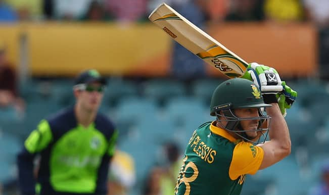 South Africa vs Ireland, ICC World Cup 2015: Hashim Amla, Kyle Abbott's efforts feature in Top Highlights from SA vs IRE