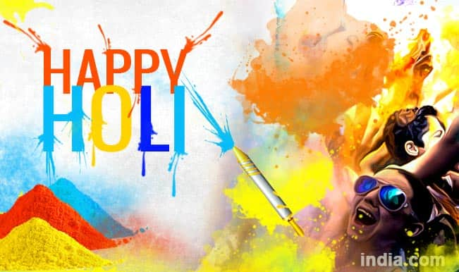 Happy Holi 2015: Best Holi SMS, WhatsApp & Facebook Messages to send Happy Holi greetings!