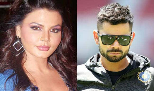 Drama queen Rakhi Sawant confesses her love for Virat Kohli! Watch video