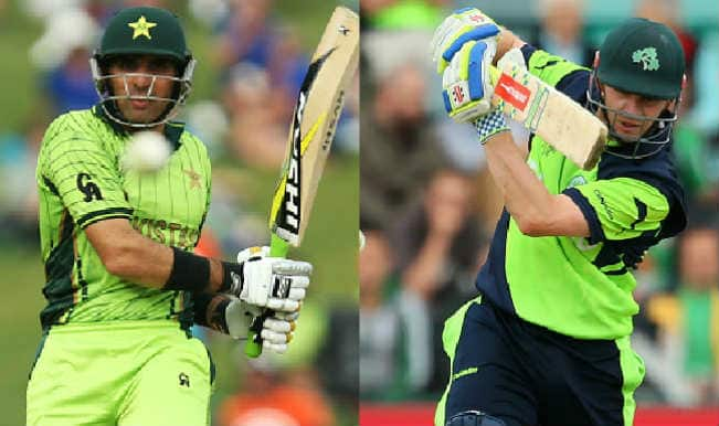 Pakistan vs Ireland, ICC Cricket World Cup 2015, Match 42 Toss Report & Playing XI: IRE win toss, bat first against PAK