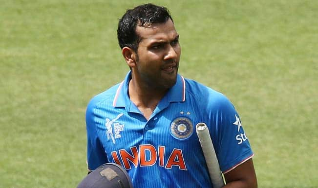 Rohit Sharma OUT! India vs Ireland ICC Cricket World Cup 2015 – Watch Full Video Highlights of Fall of Wicket