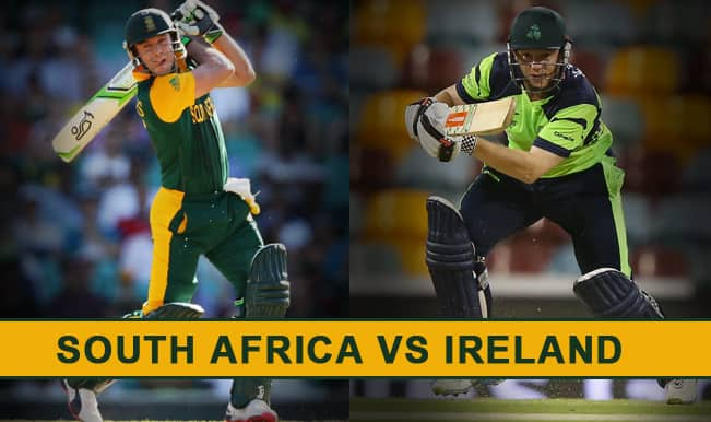 South Africa vs Ireland Preview: 'Don't Call Us Minnows, We Are Out To Win The ICC Cricket World Cup 2015'