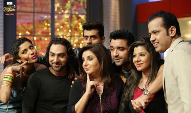Farah Ki Daawat: Pritam Singh, Diandra Soares, Praneet Bhatt, Ajaz Khan, Rahul Mahajan and Sambhavna Seth spice it up!