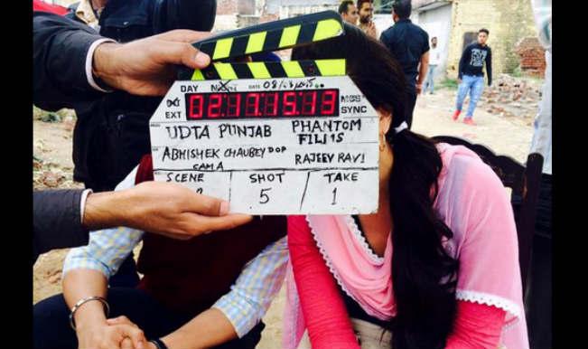 Kareena Kapoor starts shooting for Udta Punjab
