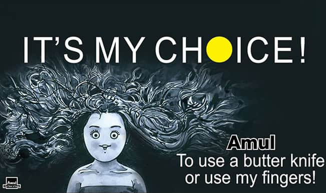 Amul makes reference to Deepika Padukone's 'My Choice' video in latest ad