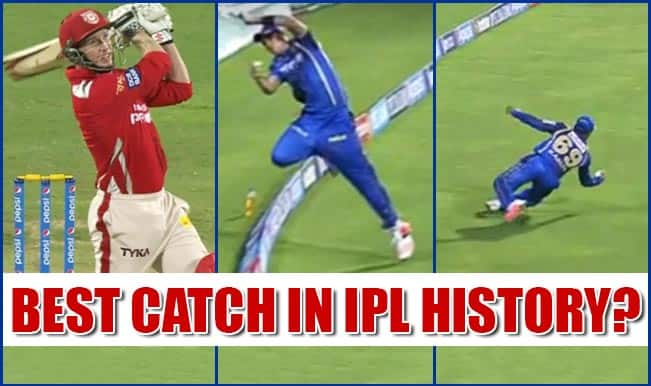 Video Highlights of Tim Southee & Karun Nair relay catch in IPL 2015, Kings XI Punjab vs Rajasthan Royals match: Best Catch in IPL History?