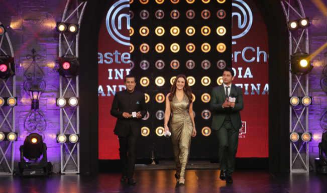 Preity Zinta on MasterChef India 4 set