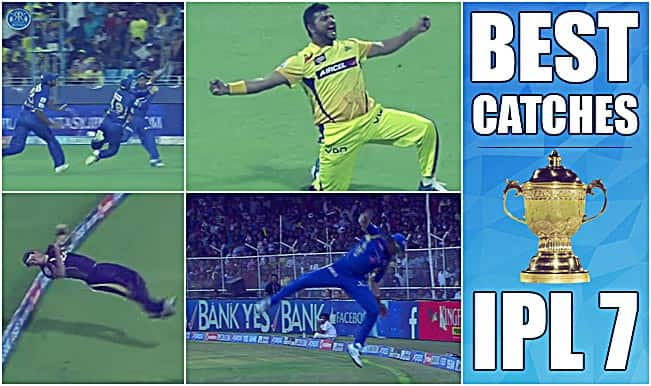 Best Catches in IPL 7: Watch most difficult catches of previous season ahead of IPL 2015 T20 Cricket Tournament