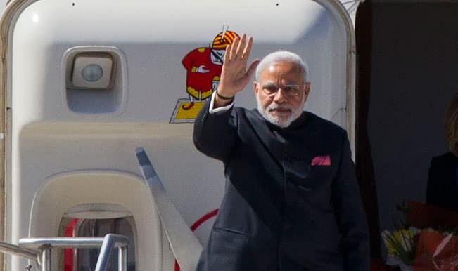 Homecoming for PM Narendra Modi after three-nation tour